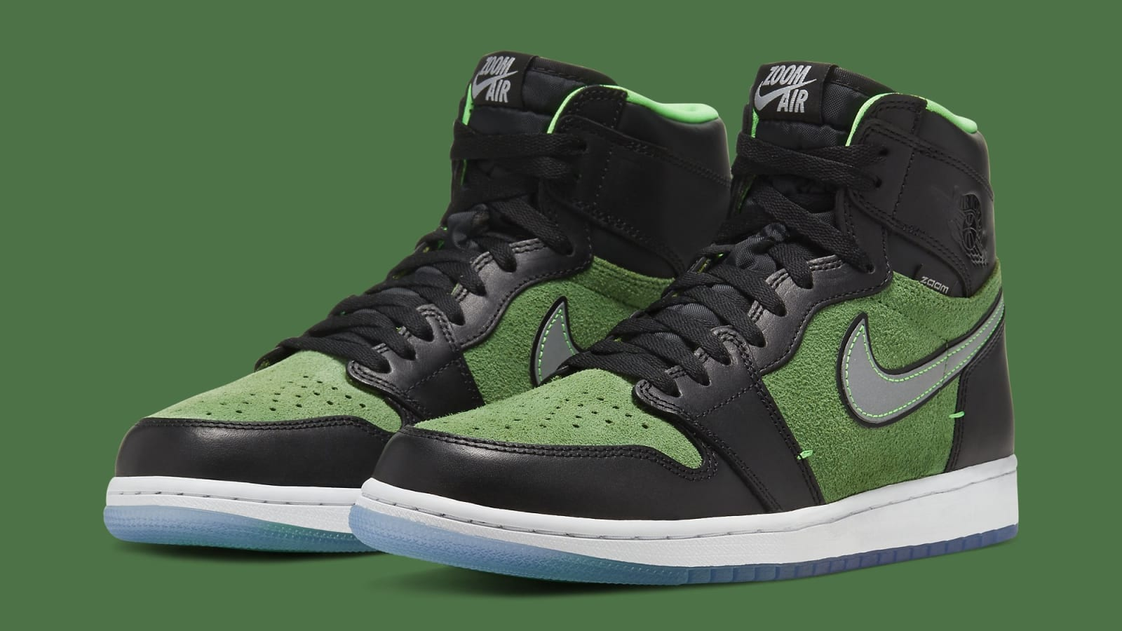 Air Jordan 1 High Zoom Rage Green Walrus Oxford