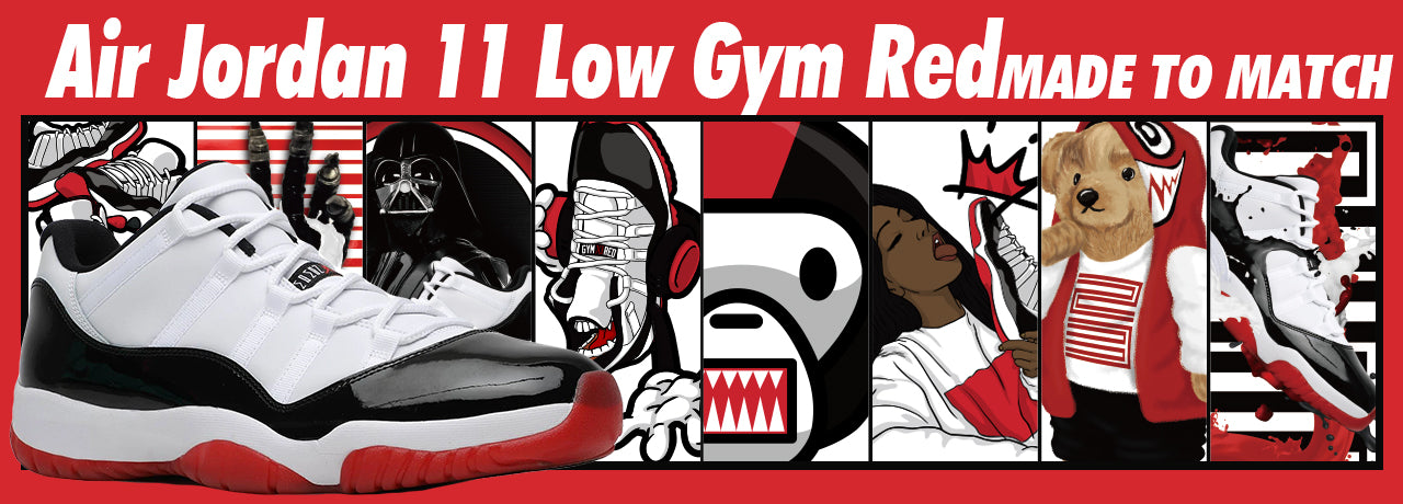 Air Jordan 11 Low Gym Red Walrus Oxford