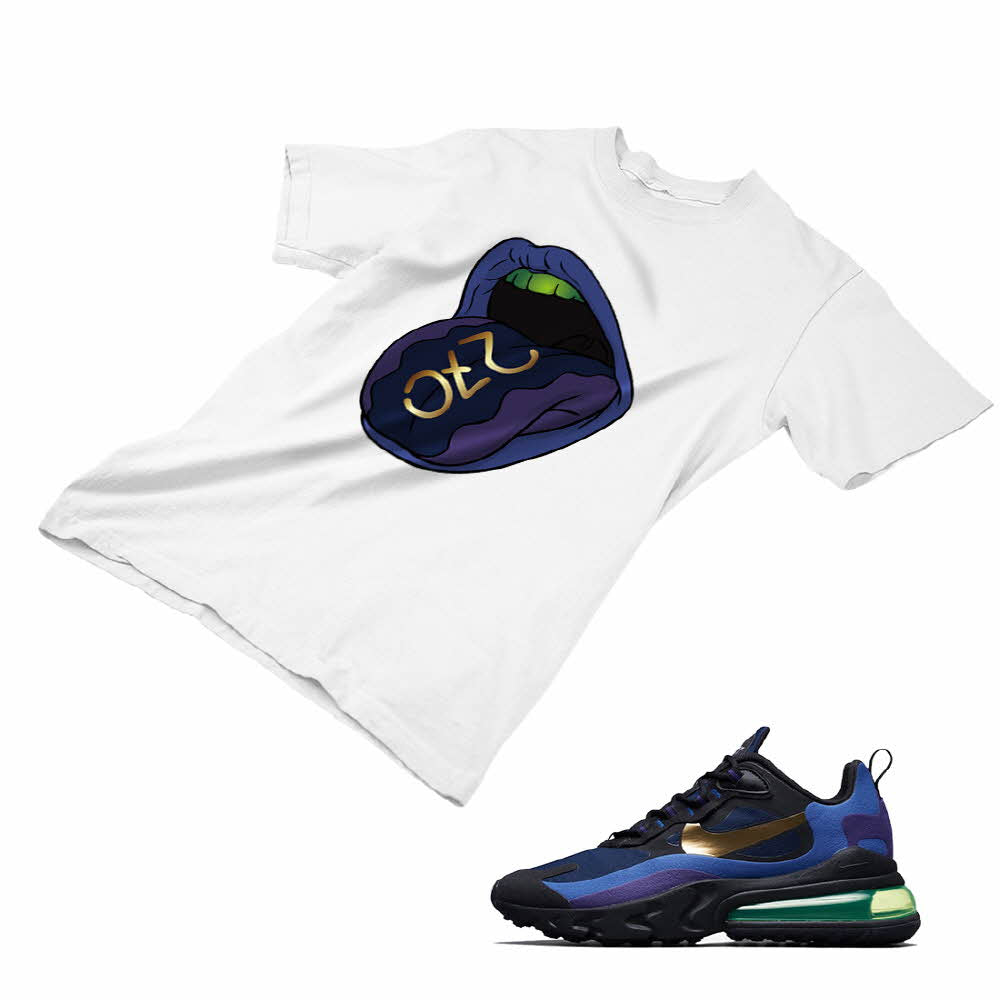 NEW CUSTOM T SHIRT matching Nike Air Max 270 BLACK//TOTAL ORANGE AM270 1-8-15