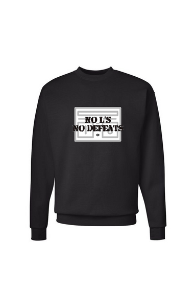 No L's No Defeats Crew Sweater