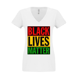 "Women's ""Black Lives Matter"" T Shirt"