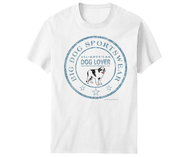 All American Dog Lover T-Shirt