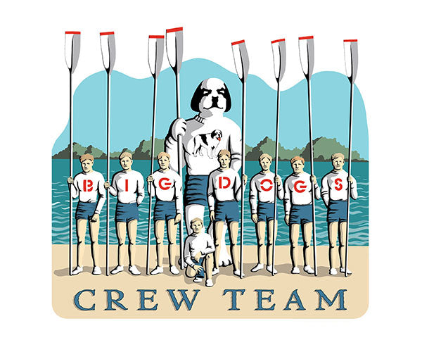Big Dog Crew Team T-Shirt