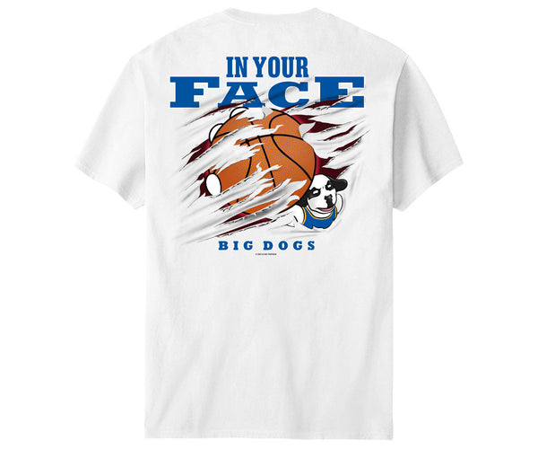 In Your Face Basketball T-Shirt