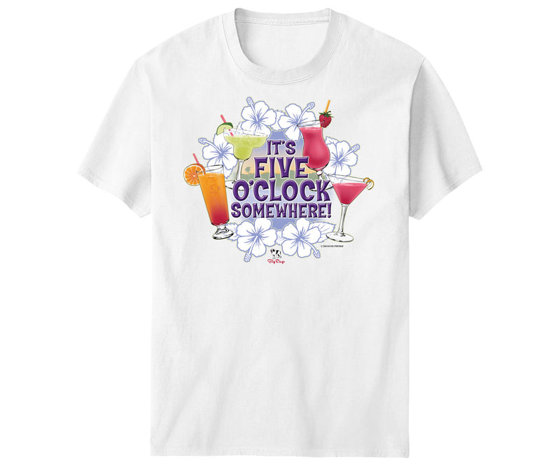 Five O'Clock Tropical T-Shirt
