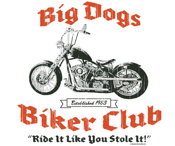 Big Dogs Biker Club T-Shirt