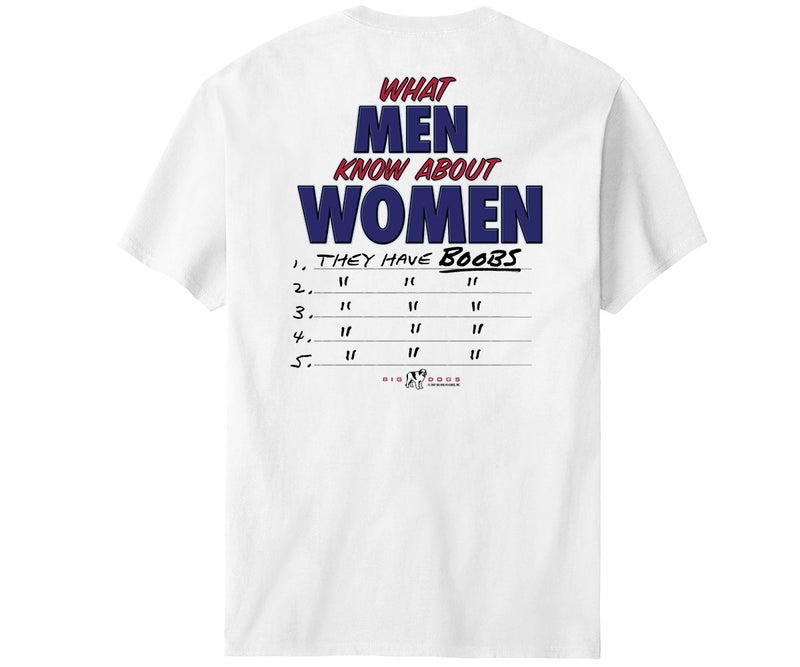 What Men Know About Women T-Shirt