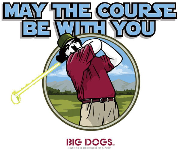 May The Course Golf T-Shirt