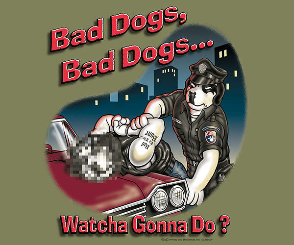 Bad Dog® Police T-Shirt