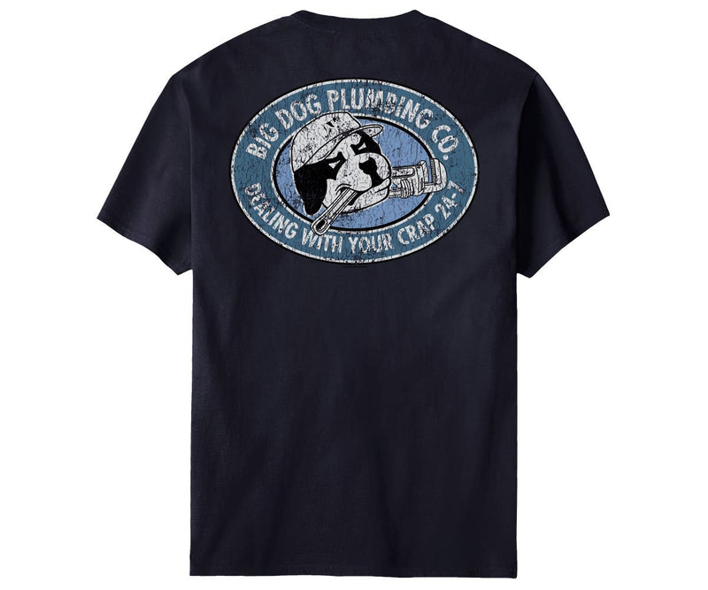 Big Dog Plumbing Company T-Shirt