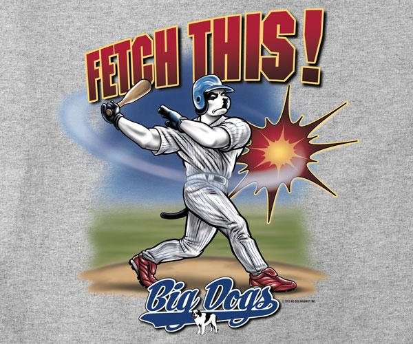Fetch This Baseball T-Shirt