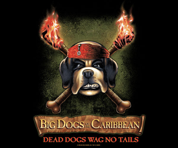 Big Dogs Of The Caribbean T-Shirt