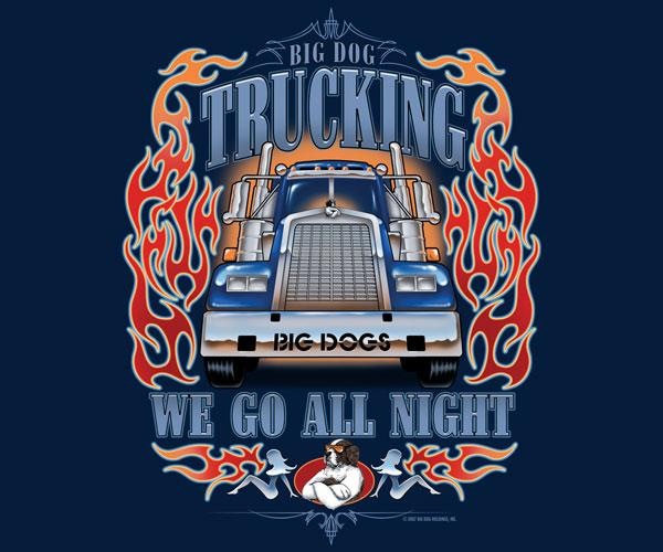 Big Dog Trucking T-Shirt