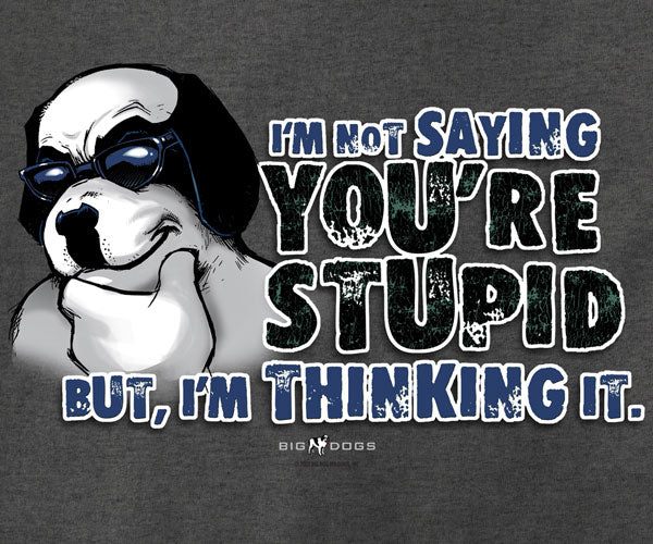 Not Saying You're Stupid T-Shirt