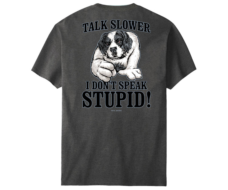 I Don't Speak Stupid T-Shirt CH
