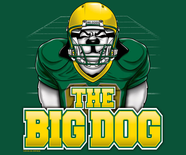The Big Dog Football T-Shirt