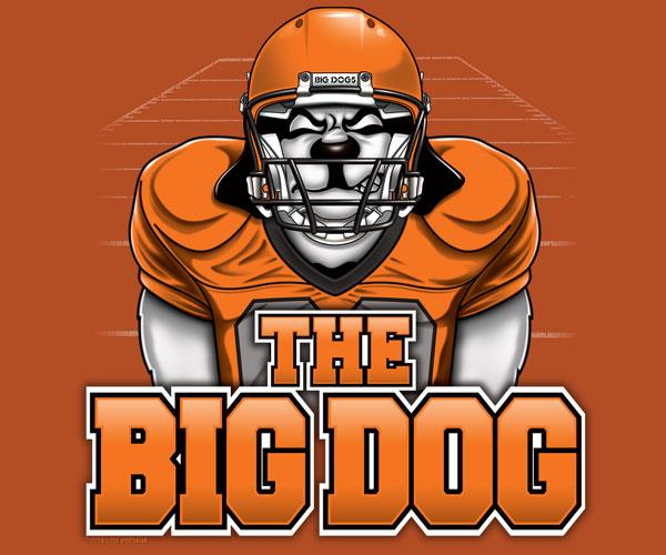 The BigDog Football T-Shirt