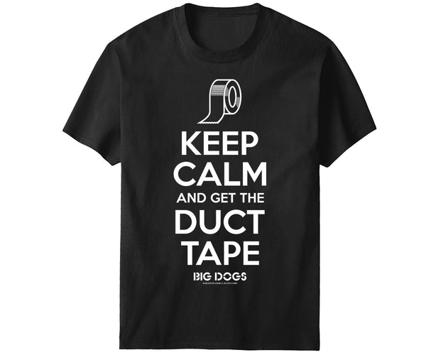 Keep Calm Duct Tape T-Shirt