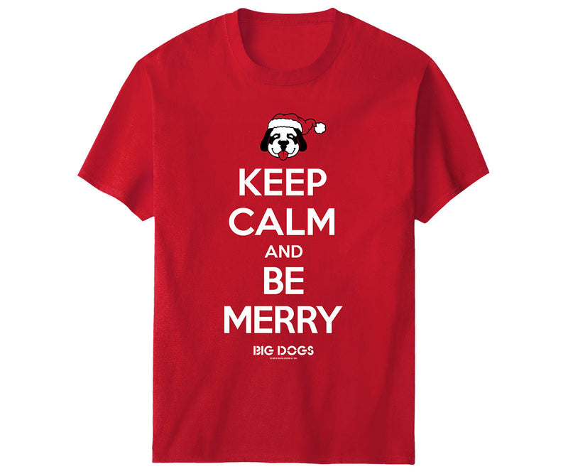 Keep Calm Be Merry T-Shirt