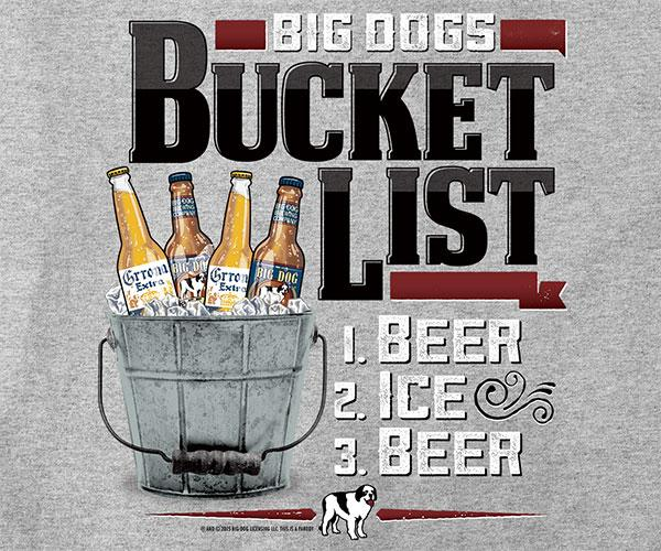 Bucket List Beers T-Shirt