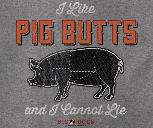 I Like Pig Butts BBQ T-Shirt