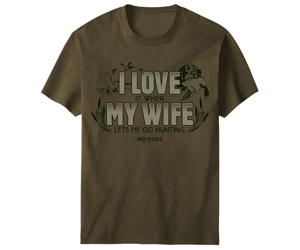 I Love My Wife Hunting T-Shirt