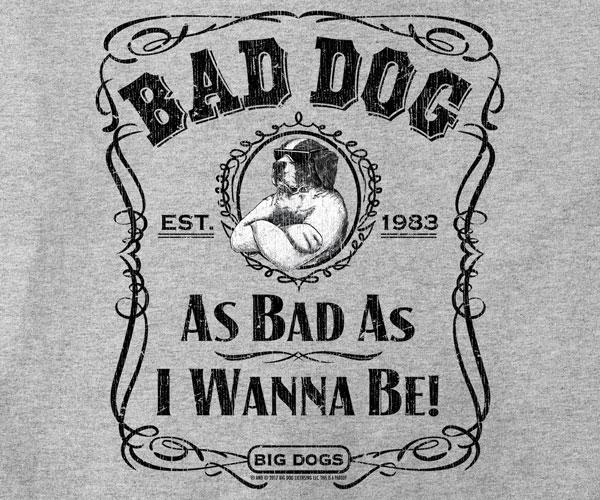 Bad Dog Label T-Shirt