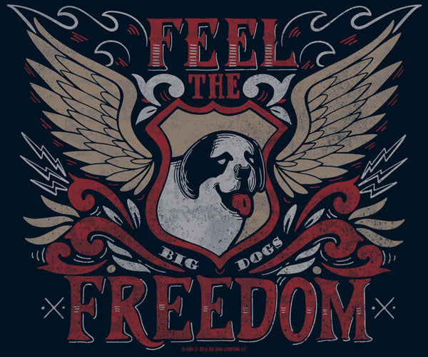 Feel The Freedom Long Sleeve T-Shirt