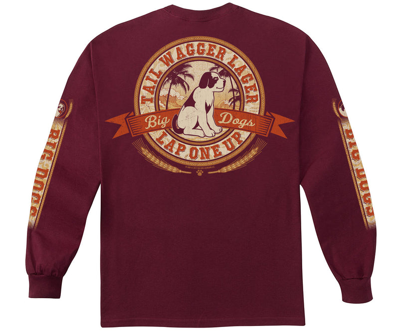 Tail Wager Lager Long Sleeve T-Shirt