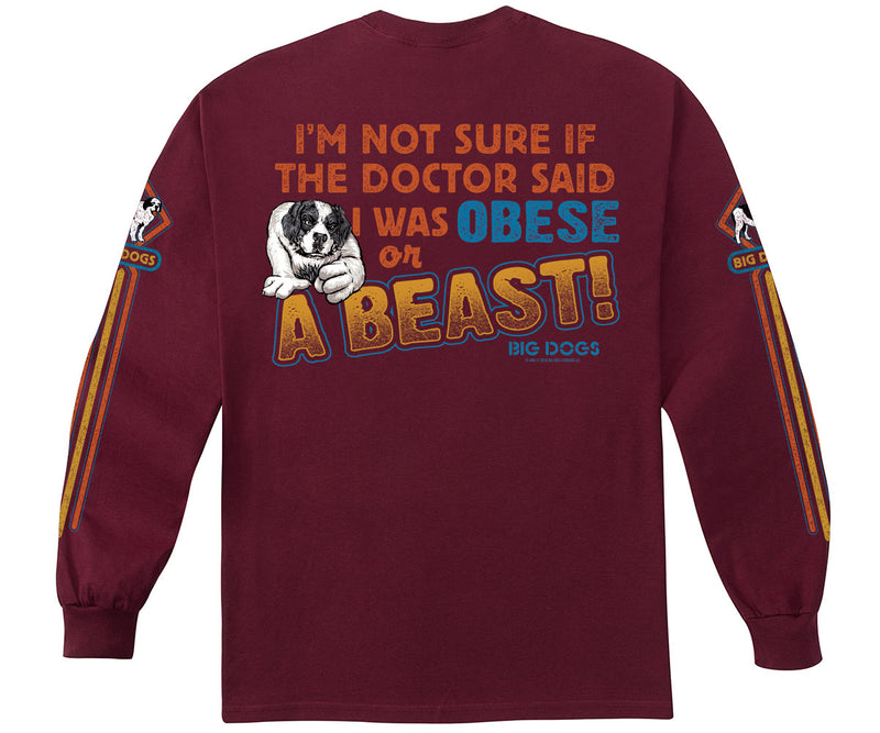 A Beast Long Sleeve T-Shirt