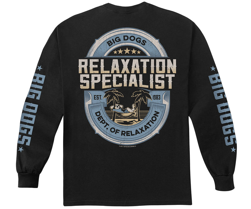 Relaxation Specialist Long Sleeve T-Shirt