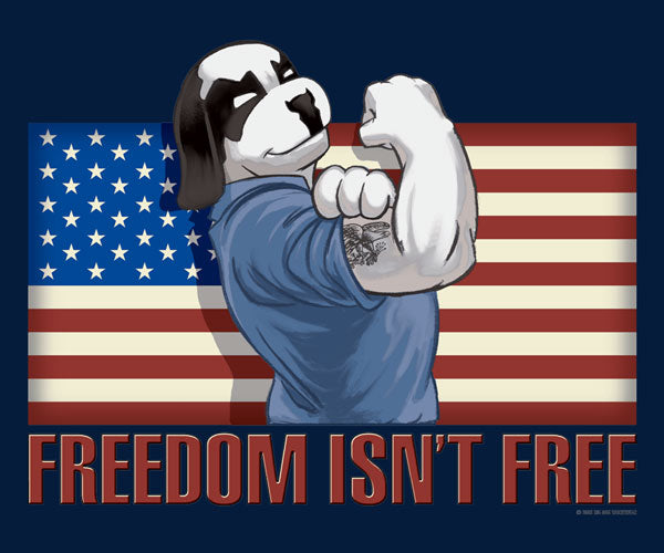 Freedom Isn't Free Muscle Shirt