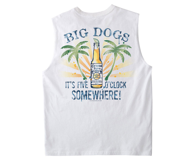 Five O'Clock Somewhere Muscle Shirt