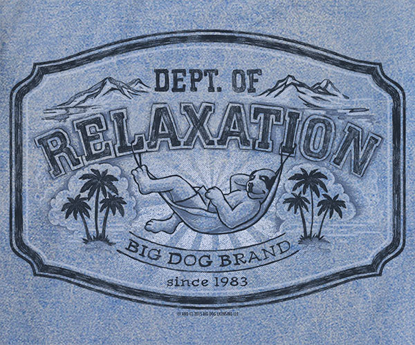 Dept. Of Relaxation Vintage Washed Crew