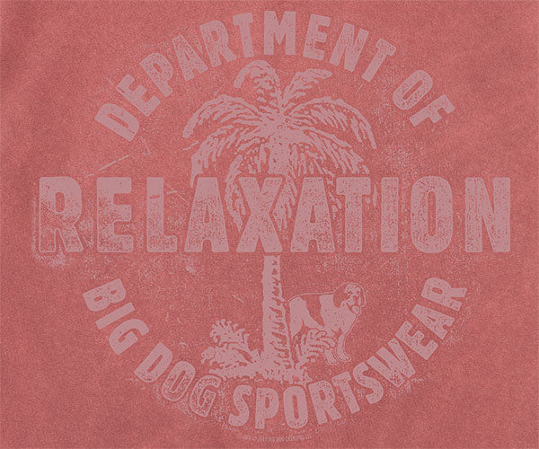 Dept. of Relaxation Pigment Washed Crew