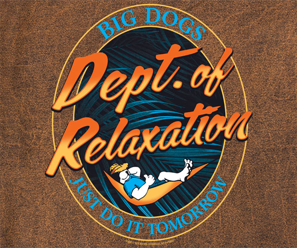 Dept. Of Relaxation Do It Vintage Washed Crew