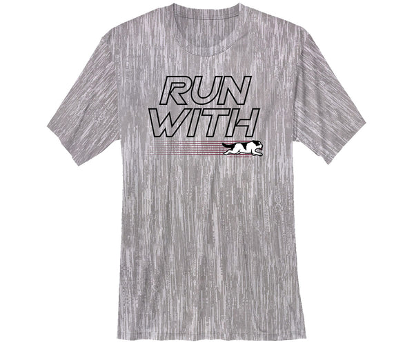 Run With The Big Dogs Cool Dri Tee
