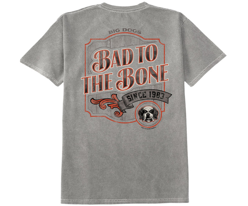 Bad To The Bone Pigment Washed Tee