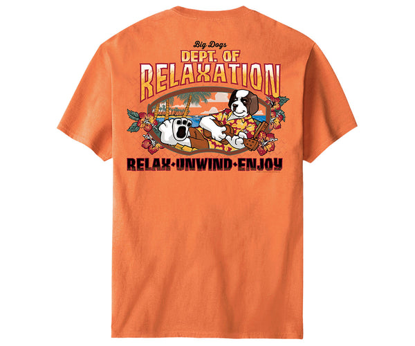 Dept. of Relaxation Ukulele Dog Garment Wash Crew