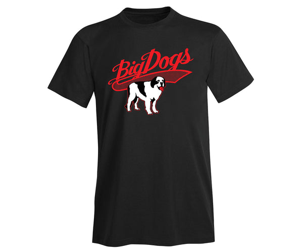 Retro Ball Game Dog T-Shirt