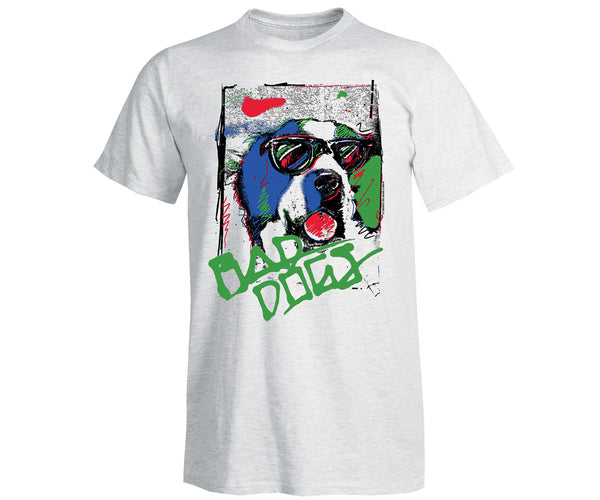 Retro Bad Dog Grafitti T-Shirt