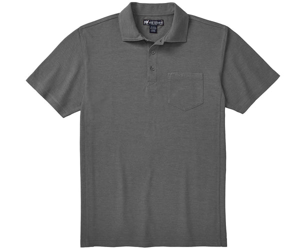 Washed Pique Polo