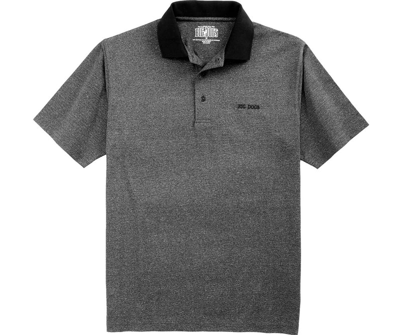 Heathered Flex Polo