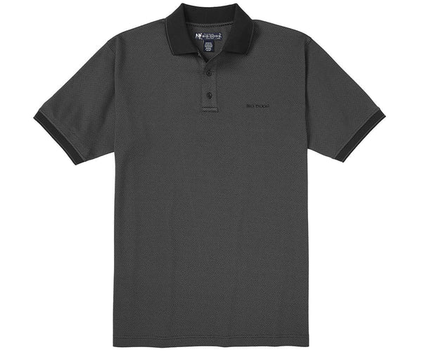 Honeycomb Jacquard Polo