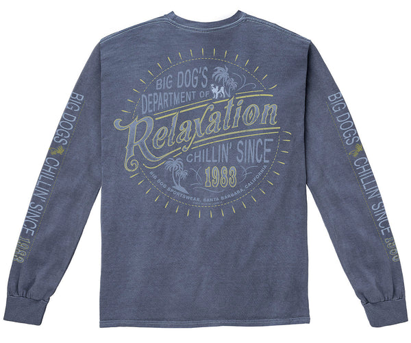 Dept. Of Relaxation Pigment Washed Long Sleeve