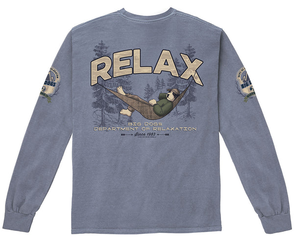Outside Pigment Washed Long Sleeve
