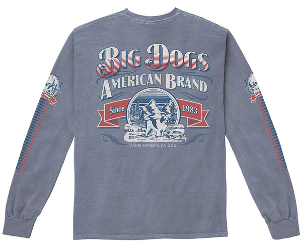 Mountain Pigment Washed Long Sleeve