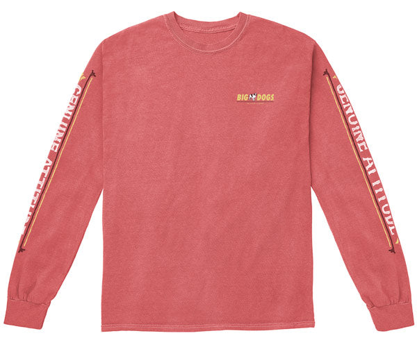 Big Dogs Brand Pigment Washed Long Sleeve