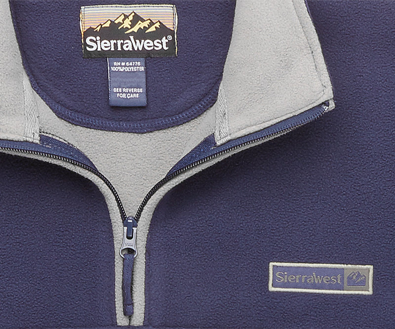Sierra West Two Layer Polar Half Zip
