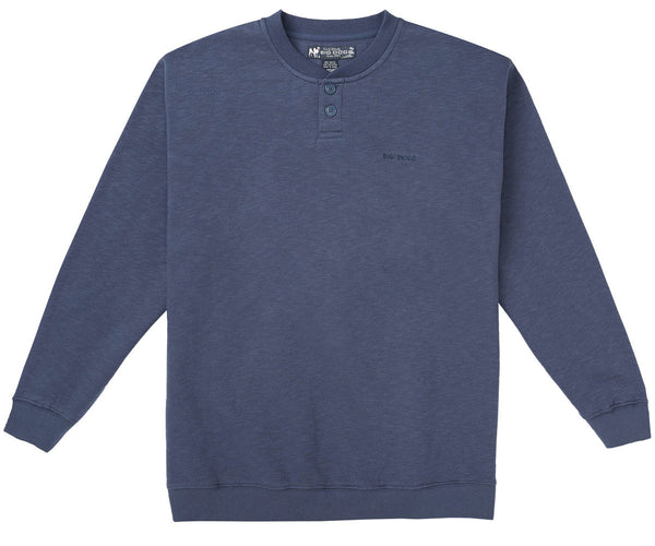 Slub Fleece Henley